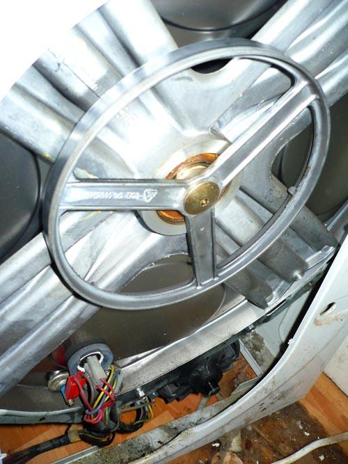 Замена подшипников в стиральной машине аристон